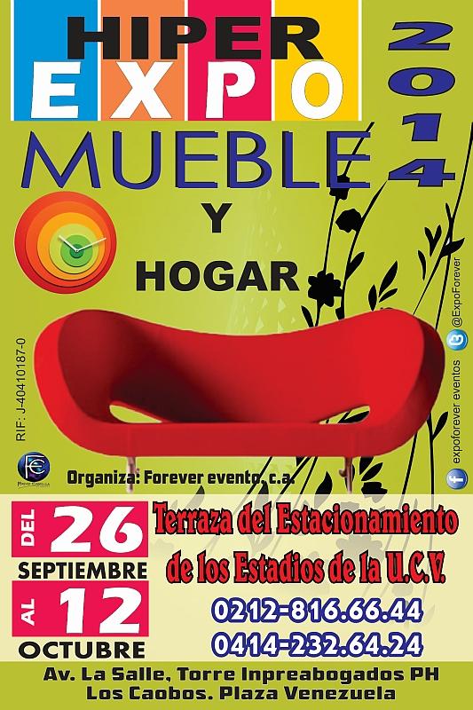 HIPER EXPO #MUEBLE Y HOGAR 2014