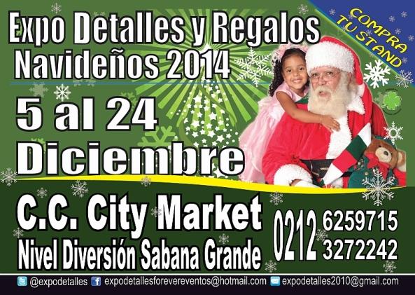 EXPO DETALLES Y #REGALOS NAVIDEÑOS 2014