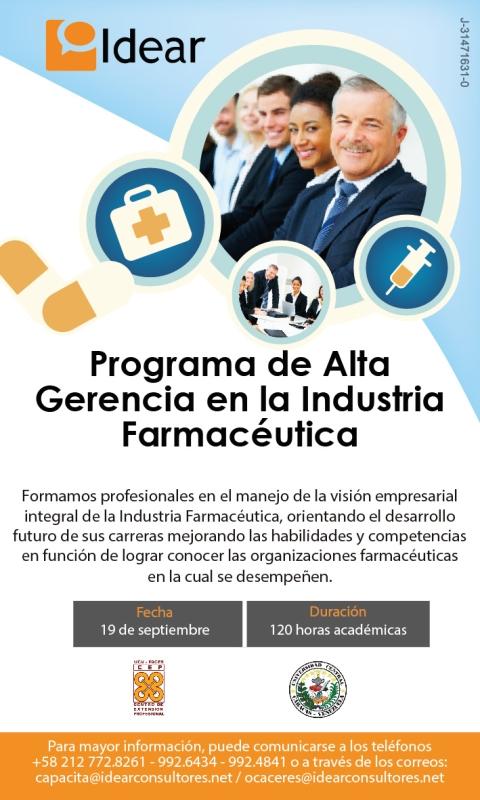 Programa de Alta Gerencia en la Industria Farmaceutica 800px