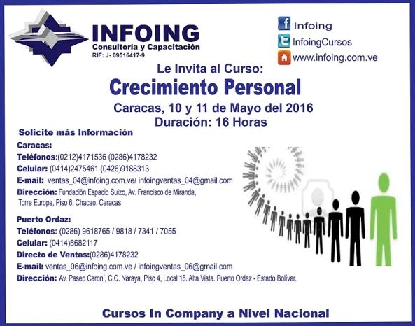 CRECIMIENTO personal I 10 y 11 de mayo 800px