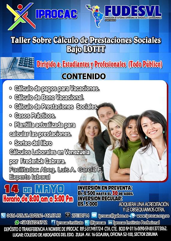 taller de calculo de prestaciones Sociales Lottt 800px