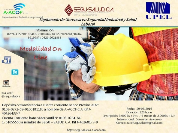 Poster diplomado seguridad on line 800px