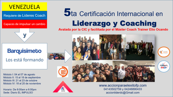 lider coach barquisimeto 5ta cohorte 6