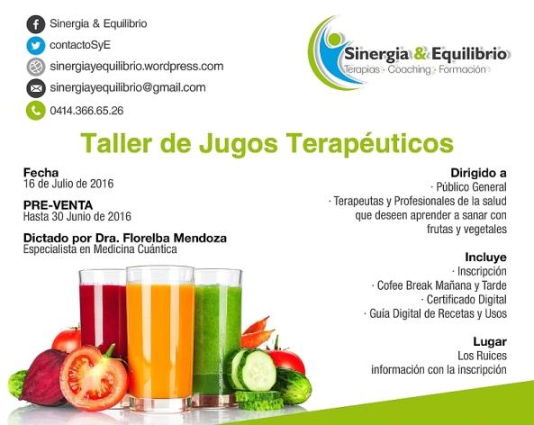 Taller de JUGOS TERAPeUTICOS 800px