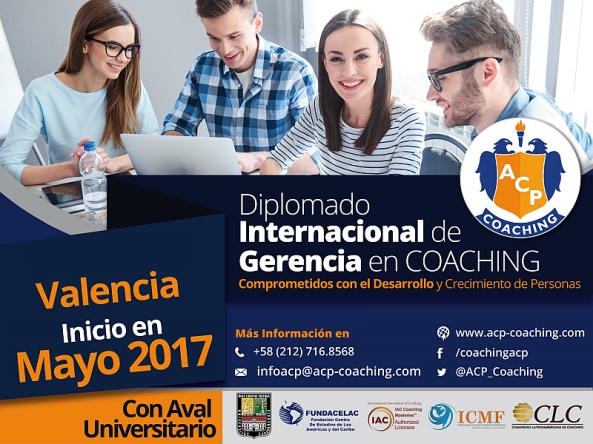 AF Flyer Diplomado Internacional en gerncia Coaching Personal Val mayo 800x600px