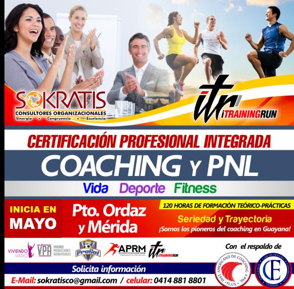 Coaching y PNL Vida, Deporte, Fitness