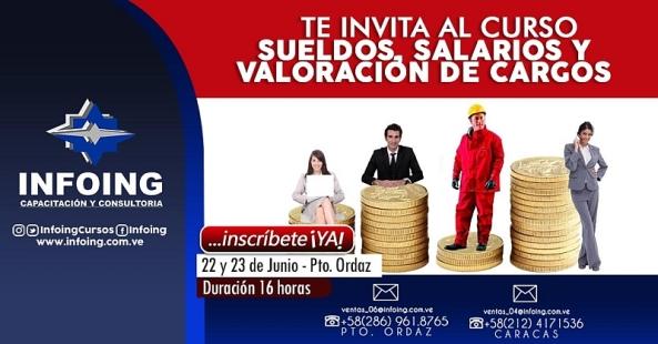 Sueldos, Salarios y Valoración de Cargos 800x419px