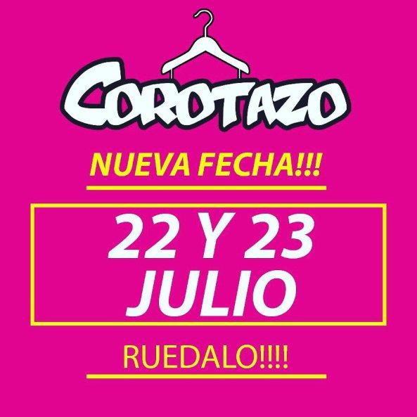 corotazoNuevaFecha22y23Julio