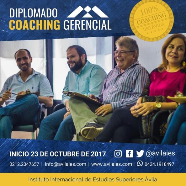 Oct_Diplomado Coaching Gerencial IIESAVILA