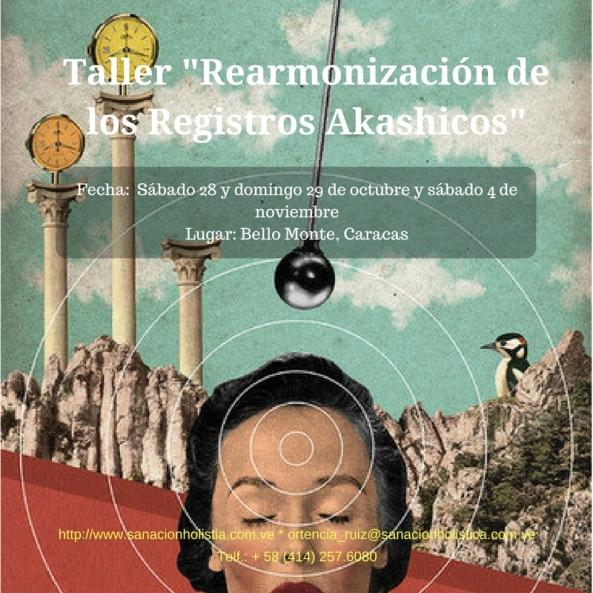Rearmonización Akashica octubre