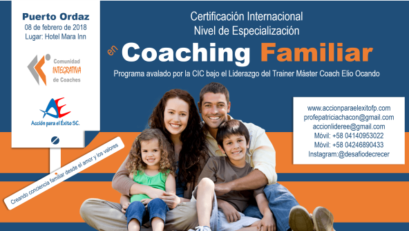 Coaching Familiar PZO 2018