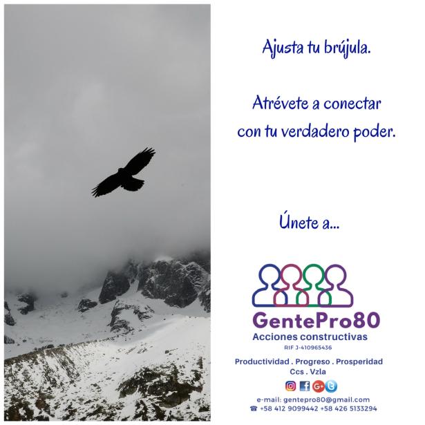 Gente #proactiva, progresista, productiva y próspera, eso somos en @GentePro80