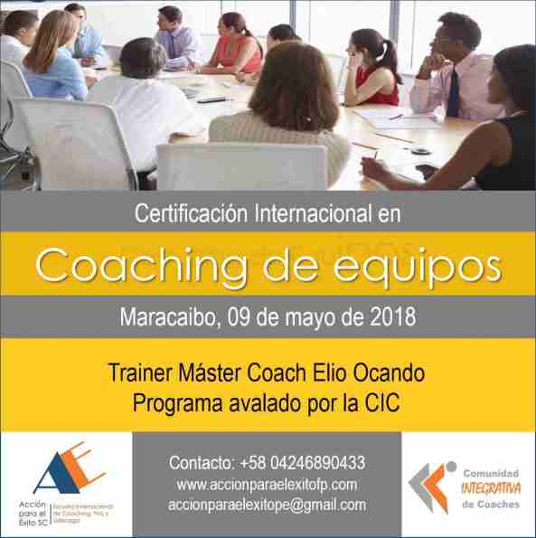 Coaching de Equipos Maracaibo 2018 corregido