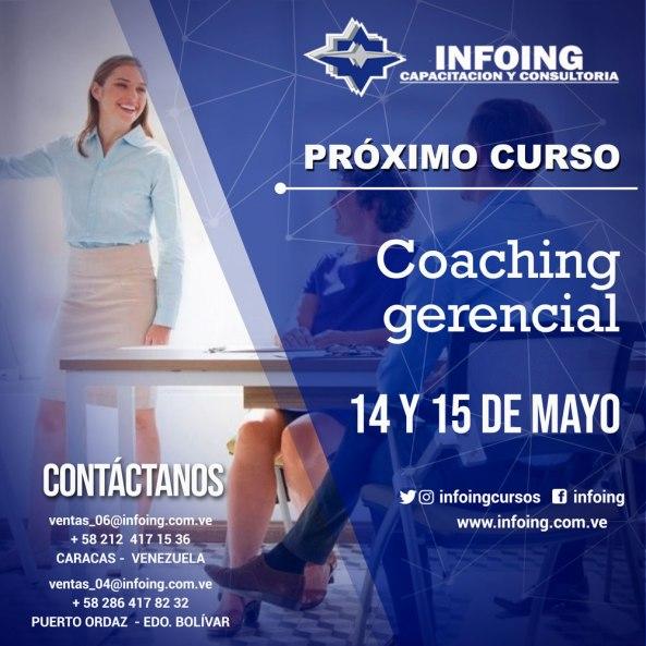 Coaching Gerencial 14 y 15 de MAYO