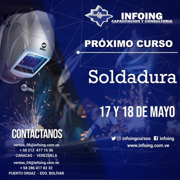 Soldadura 17 y 18 MAYO