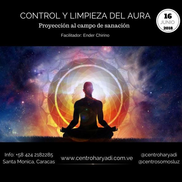 control y limpieza del aura