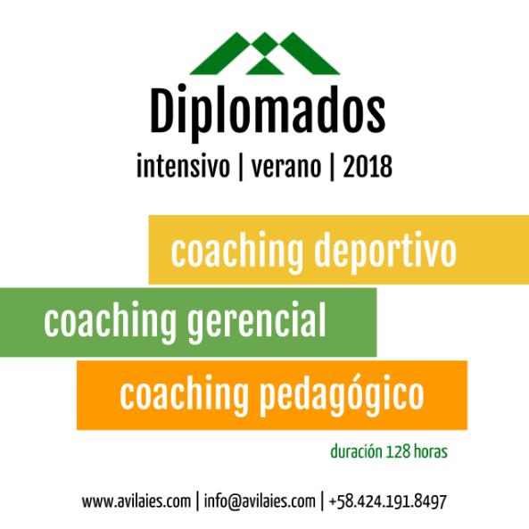 Diplomados Coaching Verano 2018