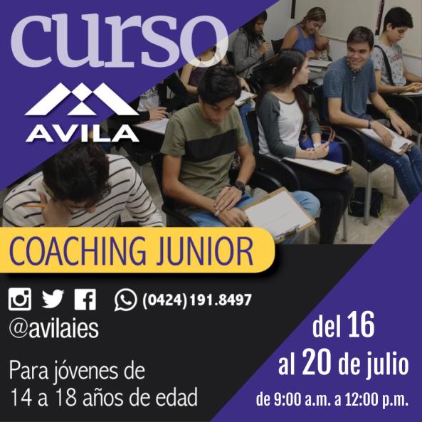 coaching junior julio 2018