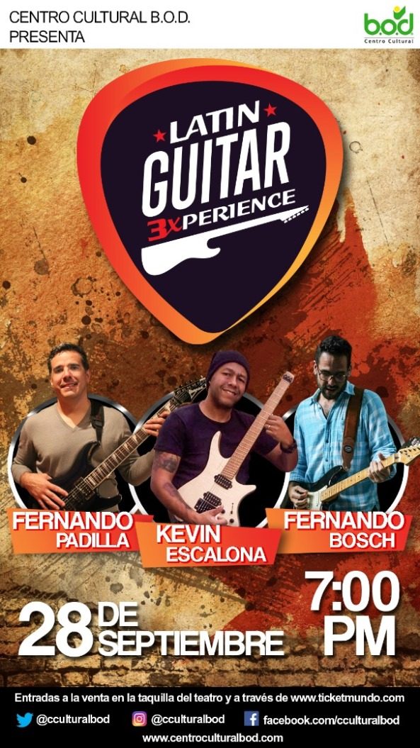 Flyer Latin Guitar Experience