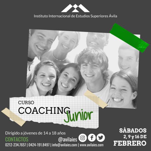 curso coaching junior feb 2019