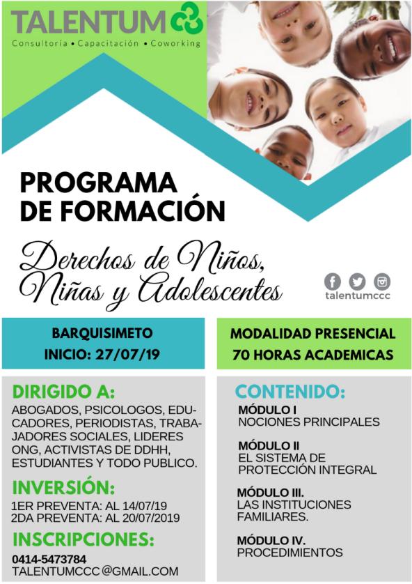 Afiche P.F Dchos del Niño